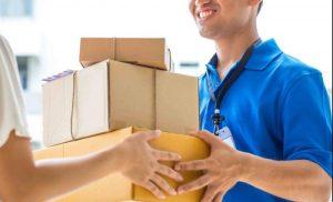 Bước 3: bàn giao hàng hóa và ký xác nhận gửi hàng
